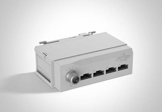 Product Sensor Hub SHC 071 for the connection of 4 digital sensors